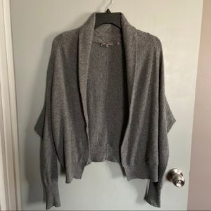 Vince Cashmere Shawl Open Cardigan